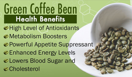 certified organic green coffee beans
